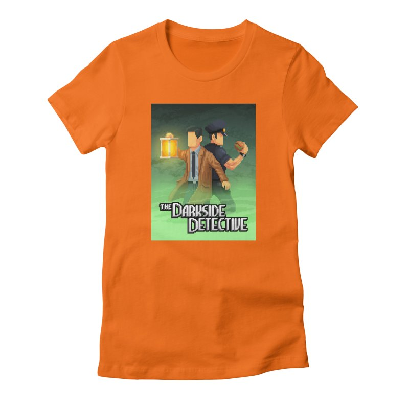 The Darkside Detective Special Edition Women's Fitted T-Shirt by Spooky Doorway's Merch Shop