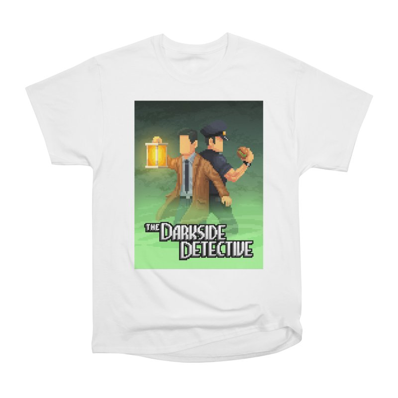 The Darkside Detective Special Edition Men's Heavyweight T-Shirt by Spooky Doorway's Merch Shop