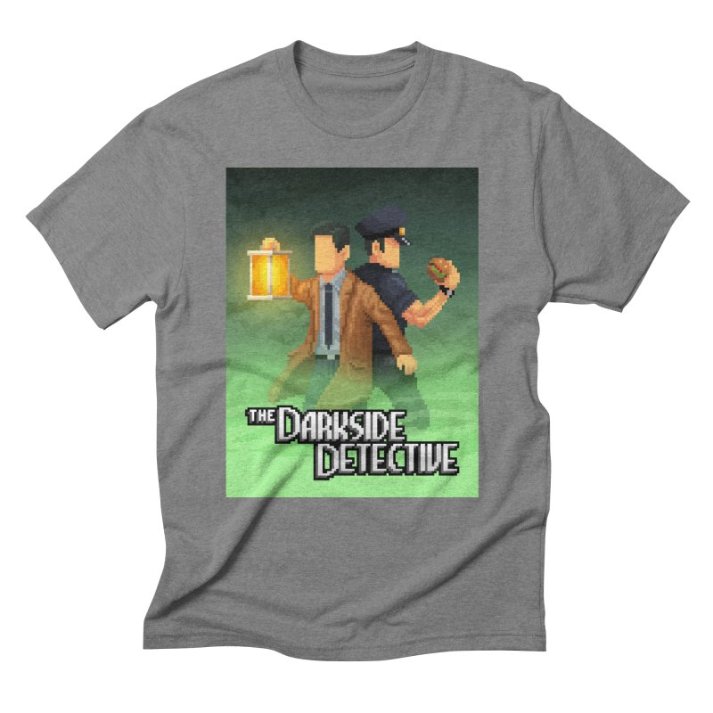 The Darkside Detective Special Edition Men's Triblend T-Shirt by Spooky Doorway's Merch Shop