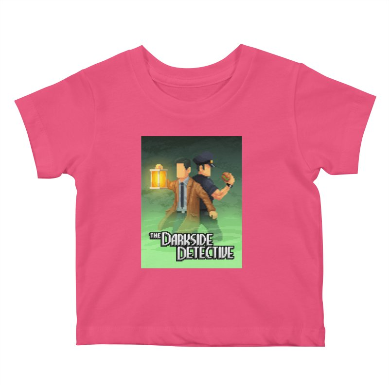 The Darkside Detective Special Edition Kids Baby T-Shirt by Spooky Doorway's Merch Shop