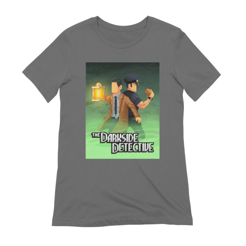 The Darkside Detective Special Edition Women's T-Shirt by Spooky Doorway's Merch Shop