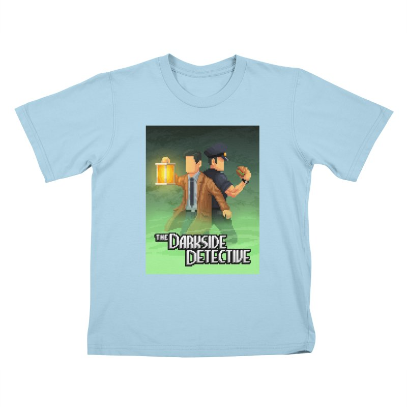 The Darkside Detective Special Edition Kids T-Shirt by Spooky Doorway's Merch Shop