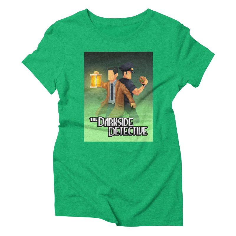 The Darkside Detective Special Edition Women's Triblend T-Shirt by Spooky Doorway's Merch Shop