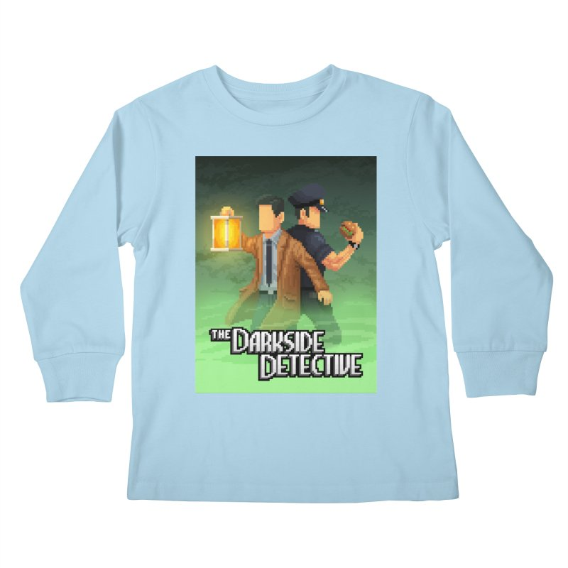 The Darkside Detective Special Edition Kids Longsleeve T-Shirt by Spooky Doorway's Merch Shop