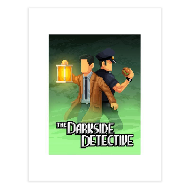 The Darkside Detective Special Edition Home Fine Art Print by Spooky Doorway's Merch Shop