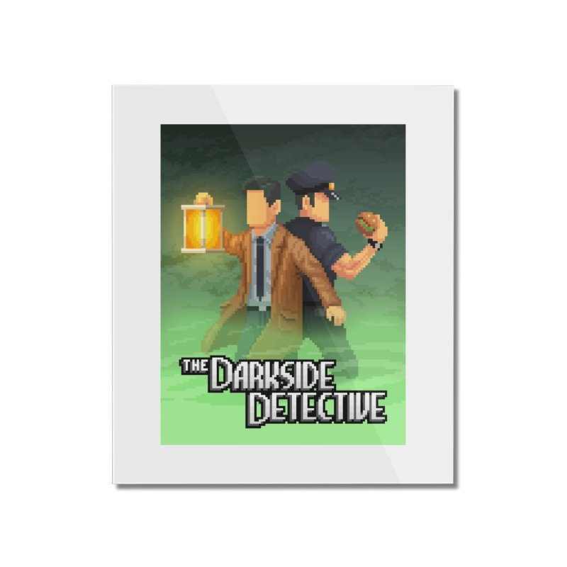 The Darkside Detective Special Edition Home Mounted Acrylic Print by Spooky Doorway's Merch Shop