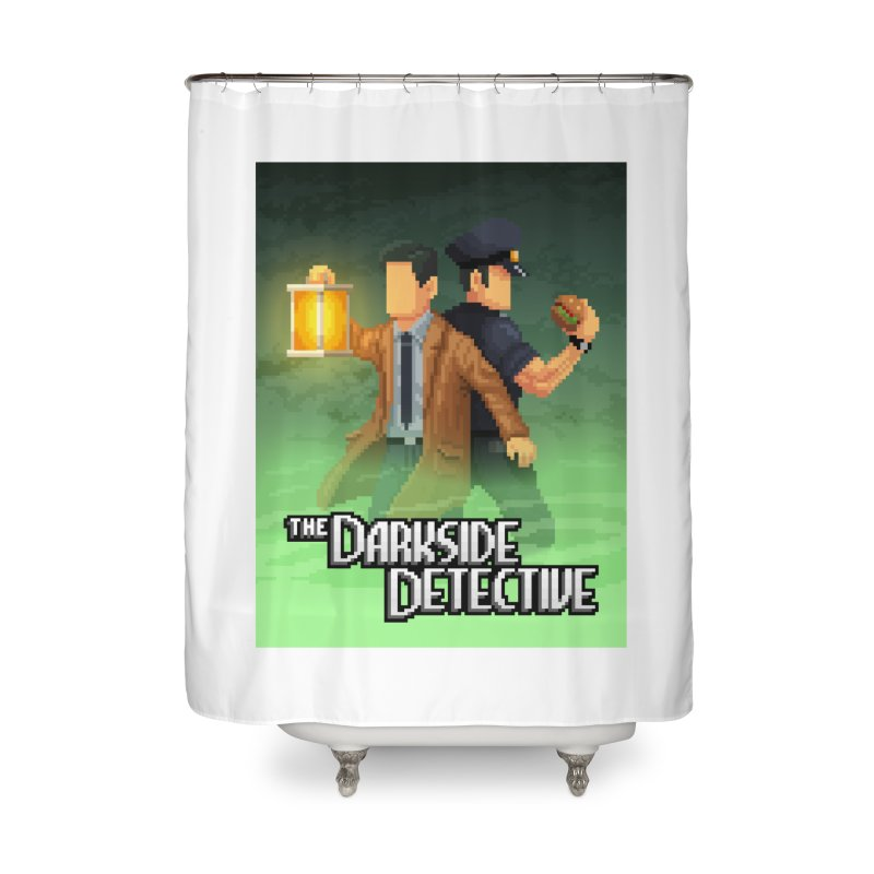 The Darkside Detective Special Edition Home Shower Curtain by Spooky Doorway's Merch Shop