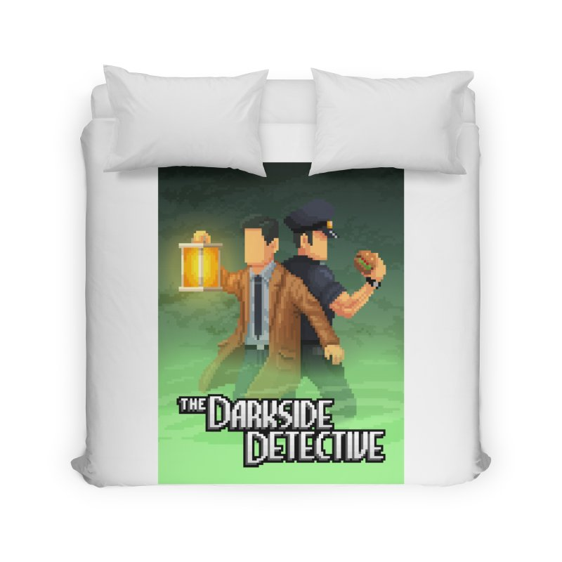 The Darkside Detective Special Edition Home Duvet by Spooky Doorway's Merch Shop