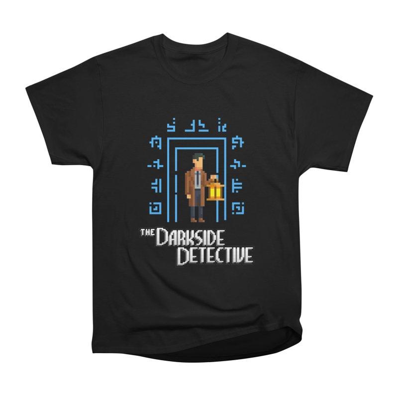 The Darkside Detective Men's T-Shirt by Spooky Doorway's Merch Shop