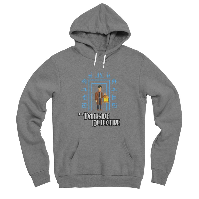 The Darkside Detective Women's Sponge Fleece Pullover Hoody by Spooky Doorway's Merch Shop