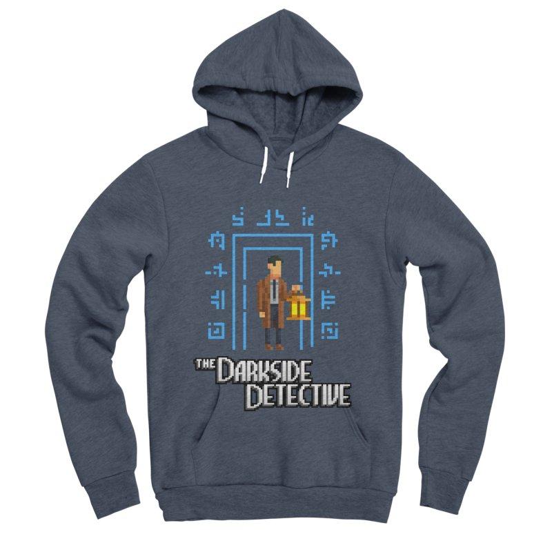 The Darkside Detective Men's Sponge Fleece Pullover Hoody by Spooky Doorway's Merch Shop