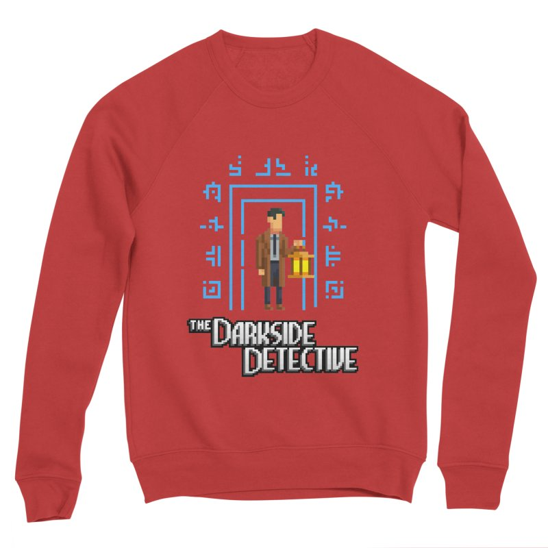 The Darkside Detective Women's Sponge Fleece Sweatshirt by Spooky Doorway's Merch Shop