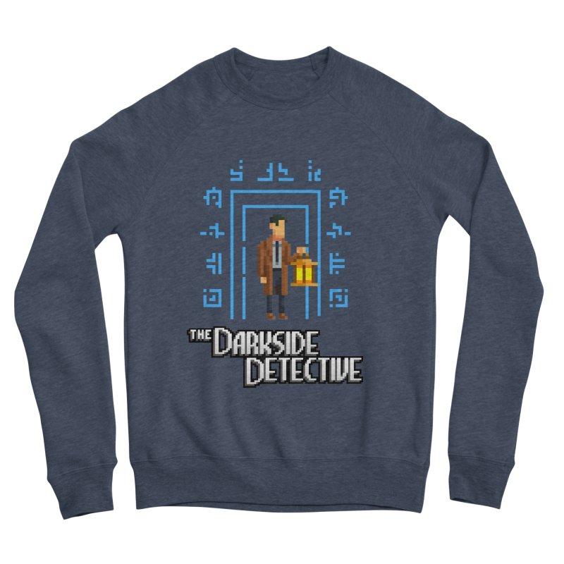 The Darkside Detective Men's Sponge Fleece Sweatshirt by Spooky Doorway's Merch Shop