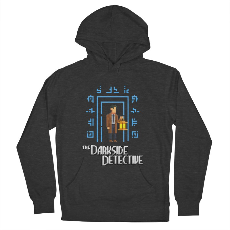 The Darkside Detective Women's French Terry Pullover Hoody by Spooky Doorway's Merch Shop
