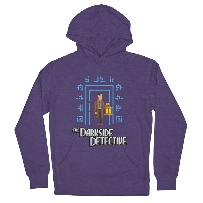The Darkside Detective Men's French Terry Pullover Hoody by Spooky Doorway's Merch Shop