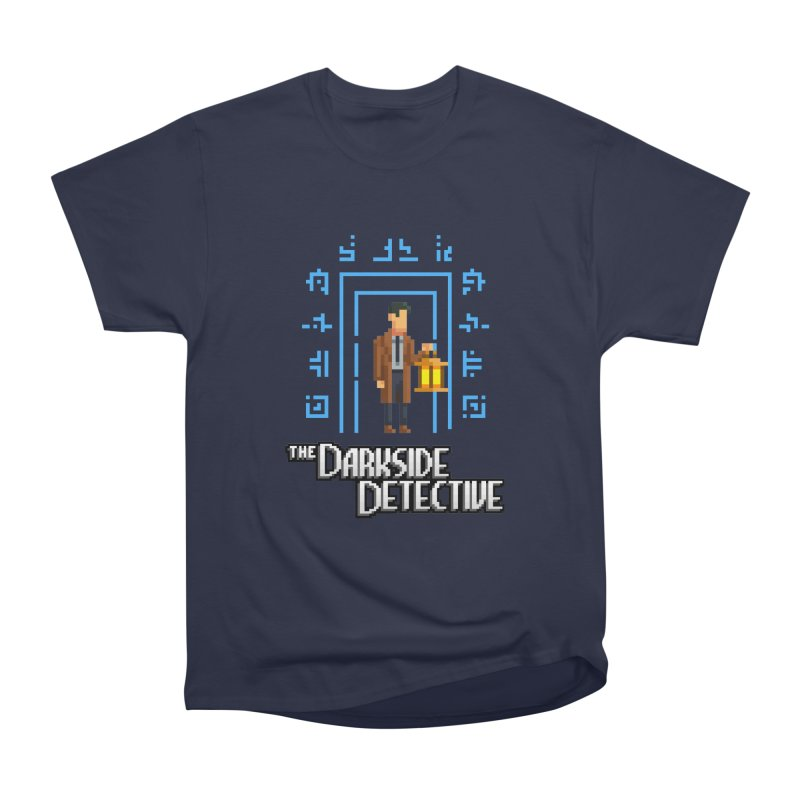 The Darkside Detective Men's Heavyweight T-Shirt by Spooky Doorway's Merch Shop
