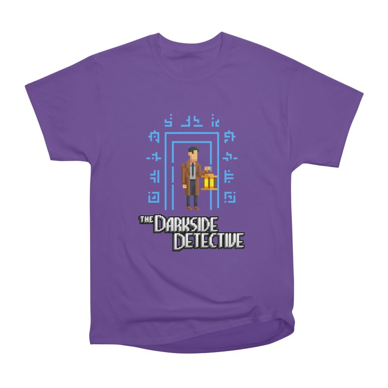 The Darkside Detective Women's Heavyweight Unisex T-Shirt by Spooky Doorway's Merch Shop