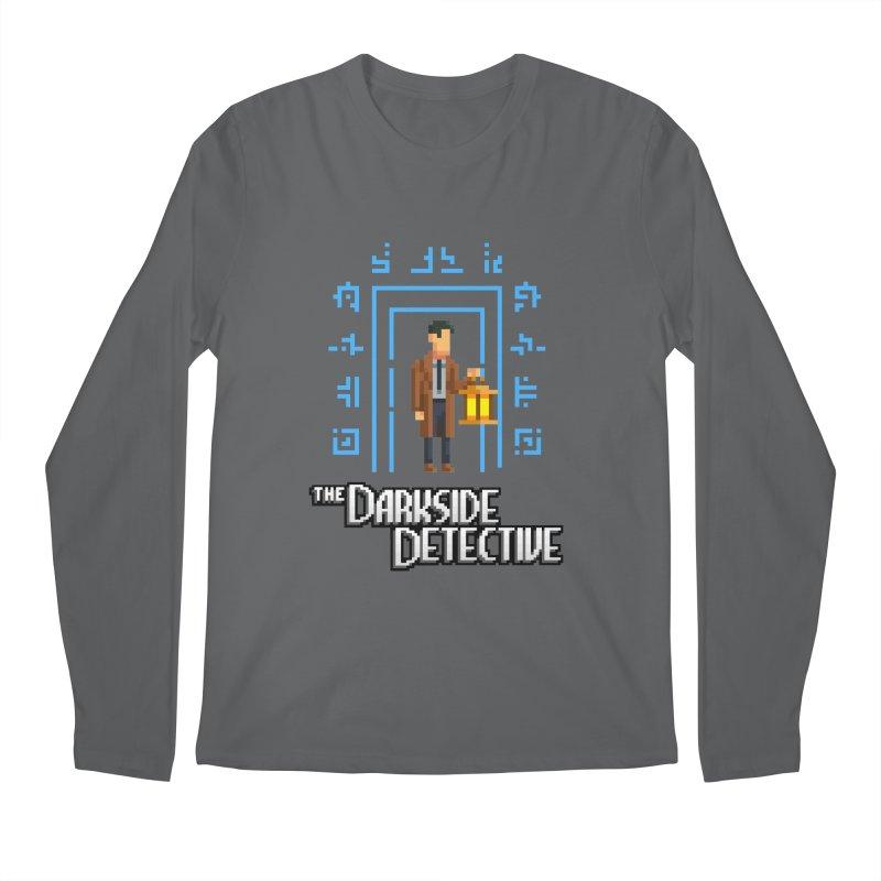 The Darkside Detective Men's Regular Longsleeve T-Shirt by Spooky Doorway's Merch Shop