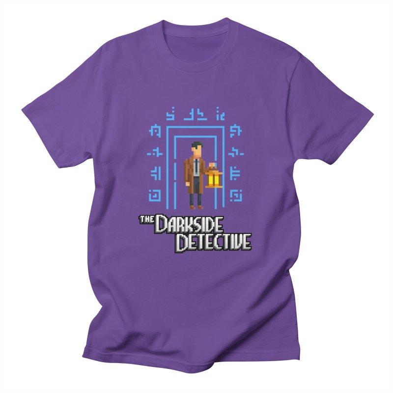 The Darkside Detective Women's Regular Unisex T-Shirt by Spooky Doorway's Merch Shop