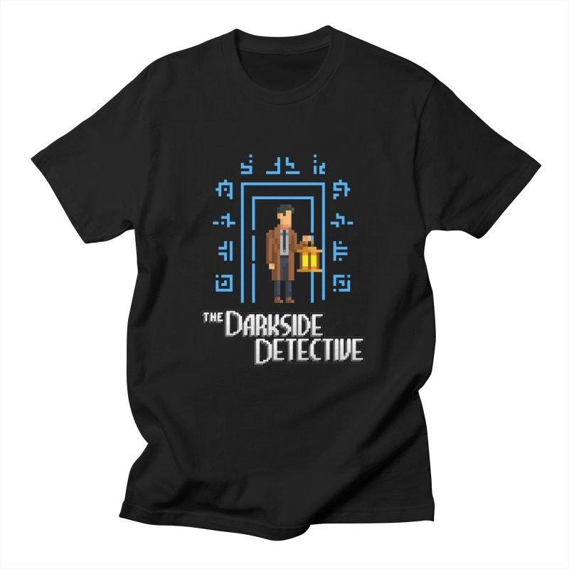 The Darkside Detective Men's Regular T-Shirt by Spooky Doorway's Merch Shop