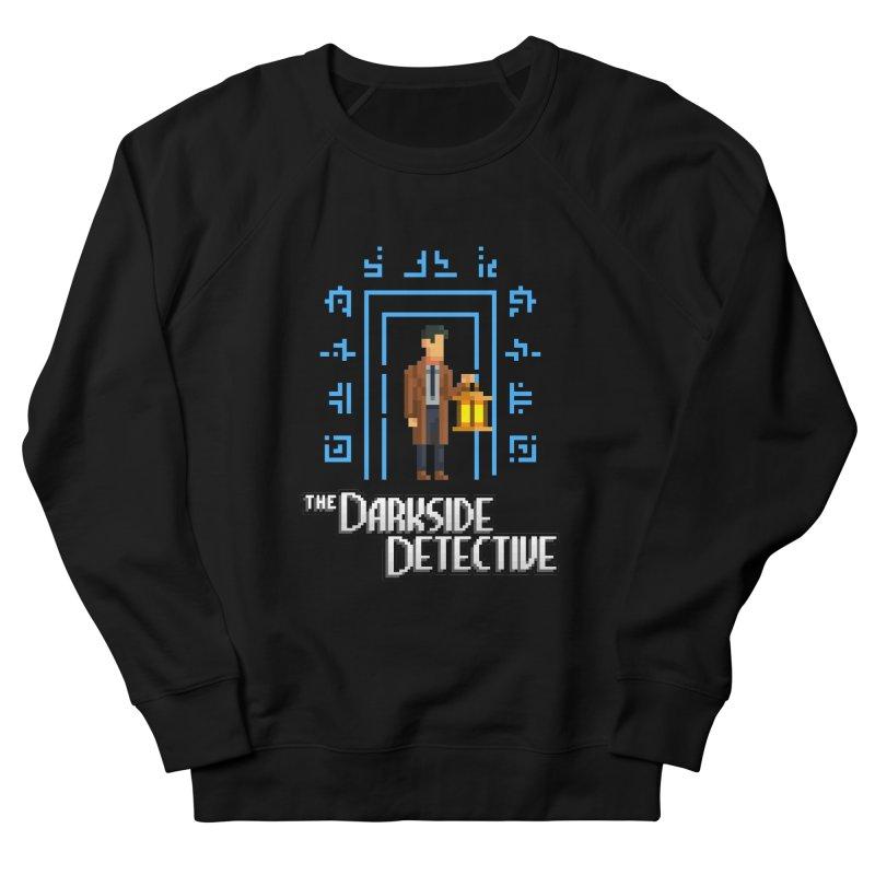 The Darkside Detective Men's French Terry Sweatshirt by Spooky Doorway's Merch Shop