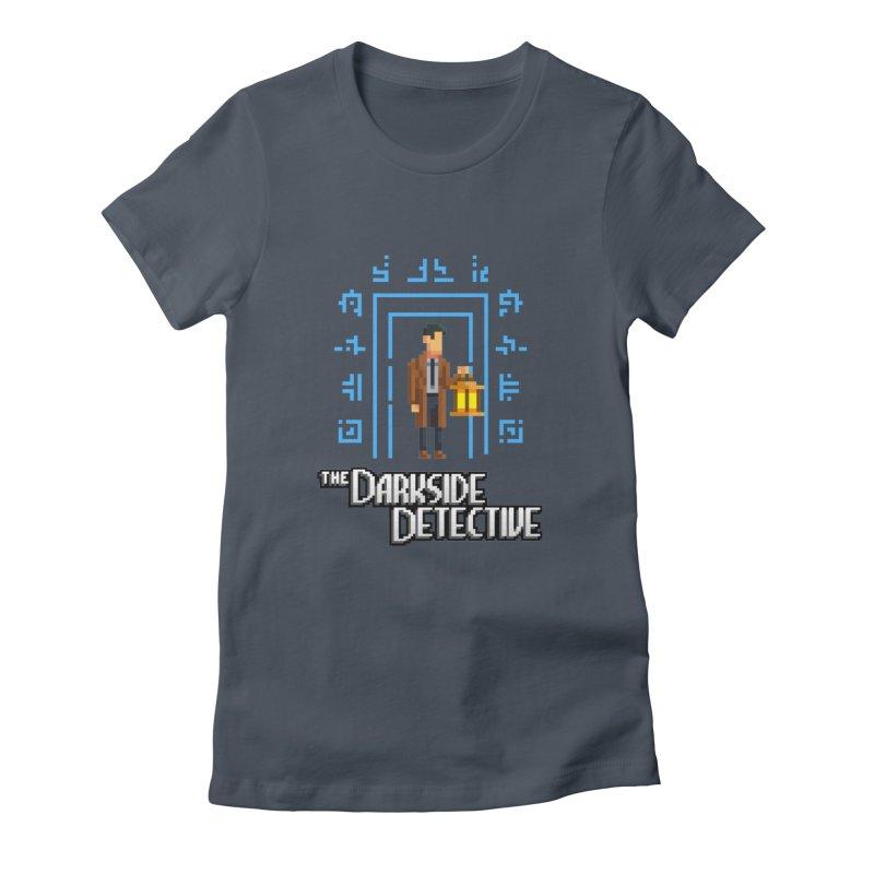The Darkside Detective Women's T-Shirt by Spooky Doorway's Merch Shop