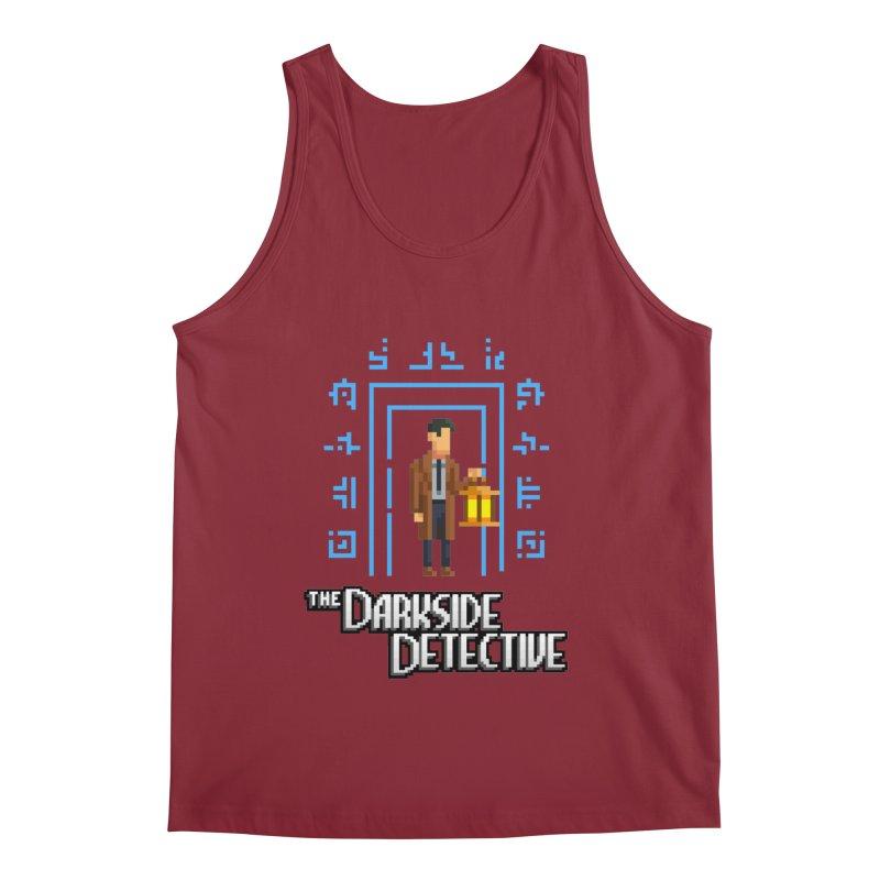 The Darkside Detective Men's Regular Tank by Spooky Doorway's Merch Shop