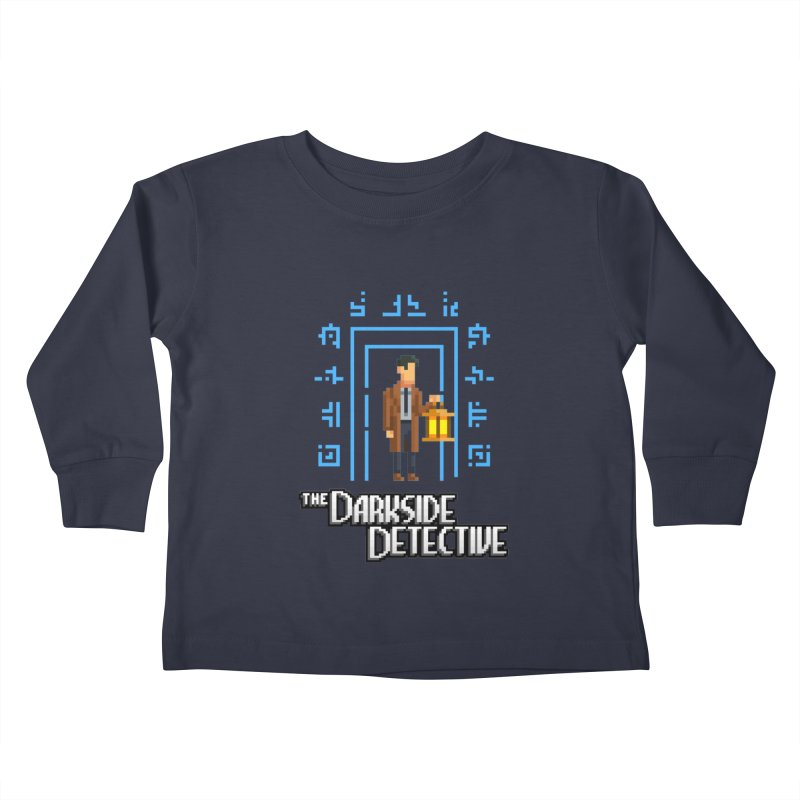 The Darkside Detective Kids Toddler Longsleeve T-Shirt by Spooky Doorway's Merch Shop