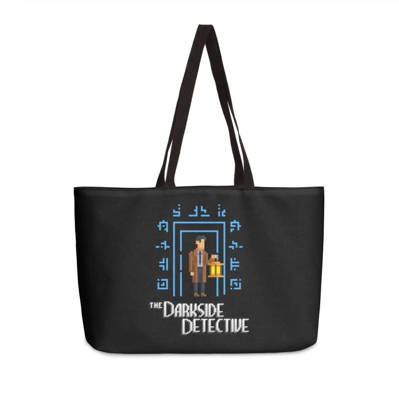 The Darkside Detective Accessories Weekender Bag Bag by Spooky Doorway's Merch Shop
