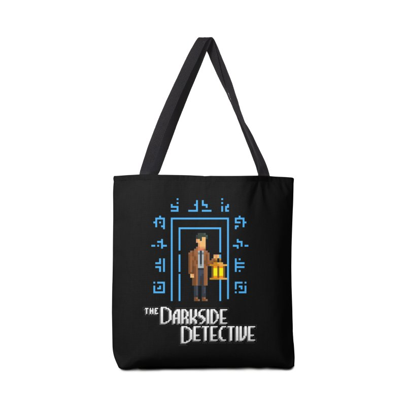 The Darkside Detective Accessories Tote Bag Bag by Spooky Doorway's Merch Shop