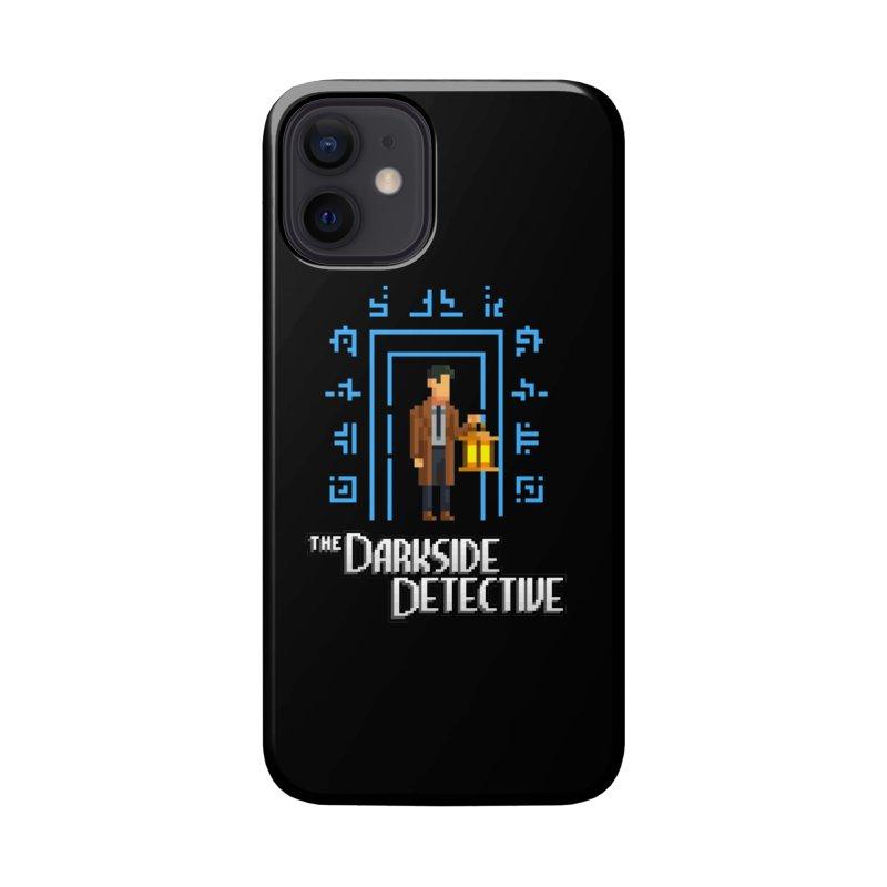 The Darkside Detective Accessories Phone Case by Spooky Doorway's Merch Shop