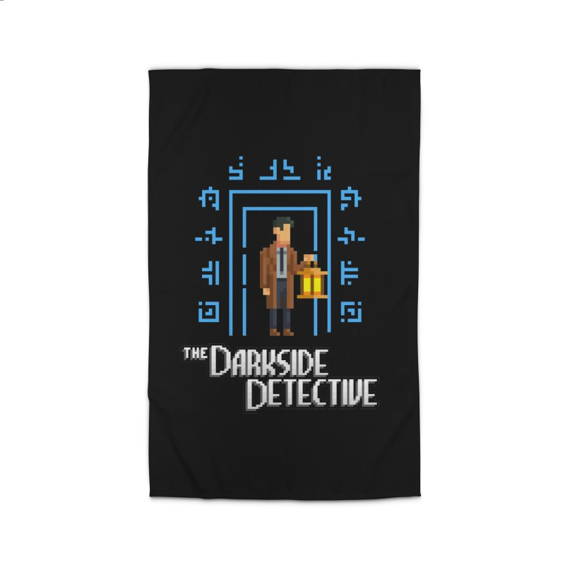 The Darkside Detective Home Rug by Spooky Doorway's Merch Shop