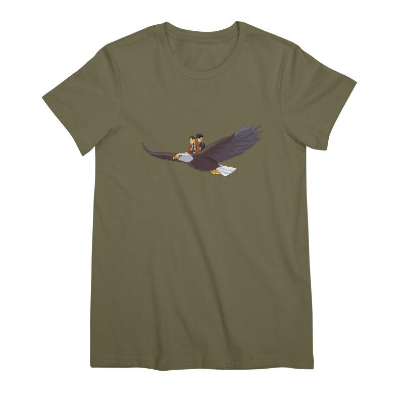 Detect From Above Women's Premium T-Shirt by Spooky Doorway's Merch Shop