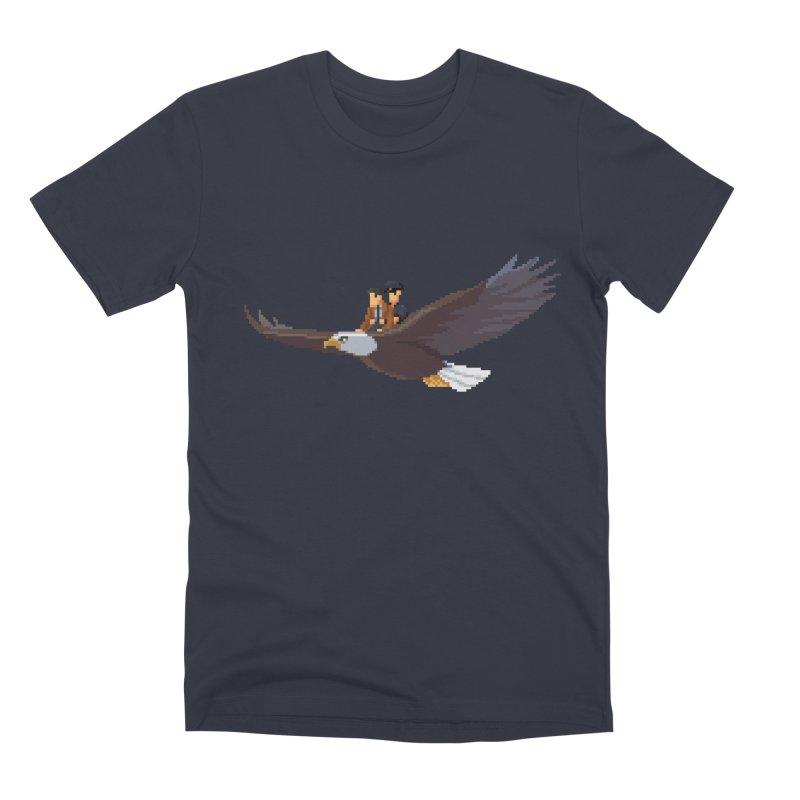 Detect From Above Men's Premium T-Shirt by Spooky Doorway's Merch Shop