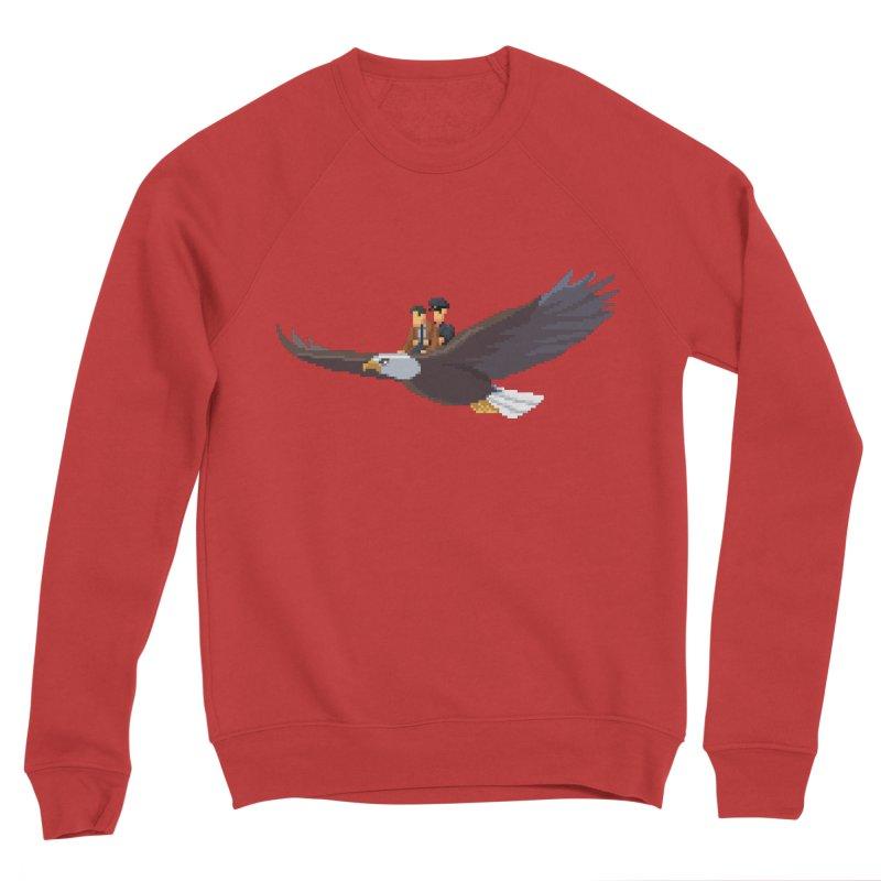Detect From Above Men's Sponge Fleece Sweatshirt by Spooky Doorway's Merch Shop