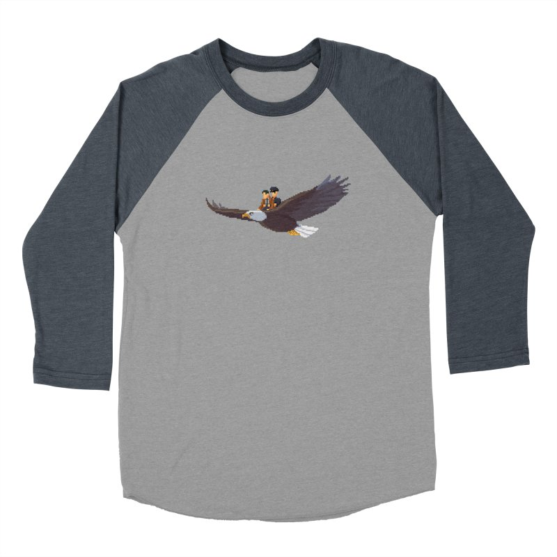 Detect From Above Men's Baseball Triblend Longsleeve T-Shirt by Spooky Doorway's Merch Shop
