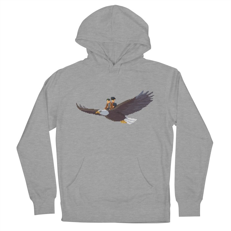 Detect From Above Women's French Terry Pullover Hoody by Spooky Doorway's Merch Shop