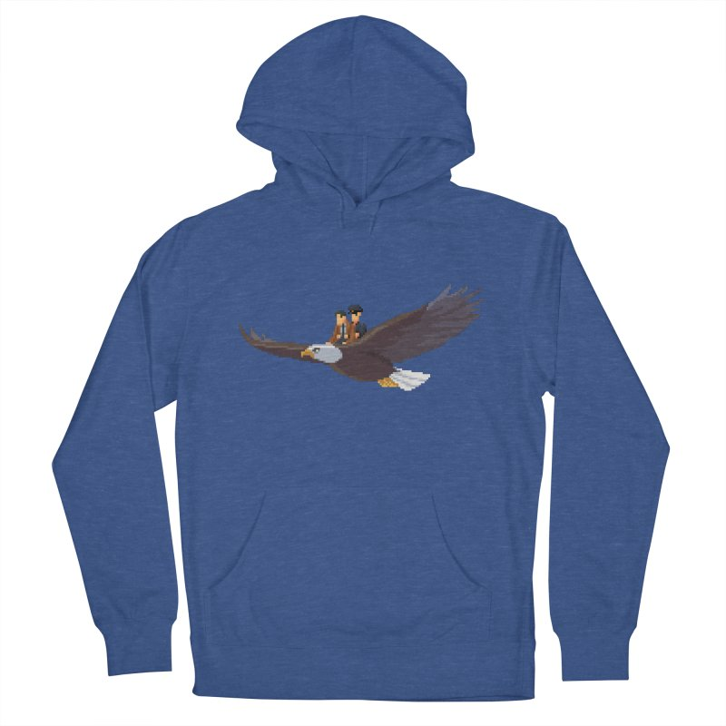 Detect From Above Men's French Terry Pullover Hoody by Spooky Doorway's Merch Shop