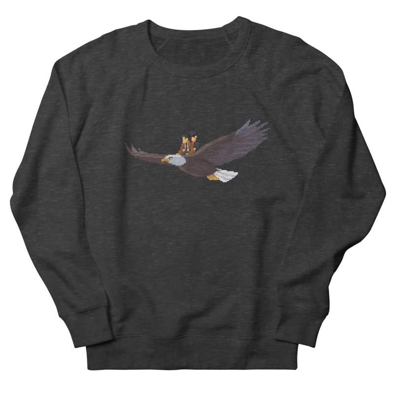 Detect From Above Women's French Terry Sweatshirt by Spooky Doorway's Merch Shop