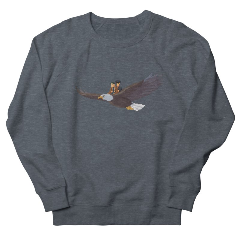 Detect From Above Men's French Terry Sweatshirt by Spooky Doorway's Merch Shop