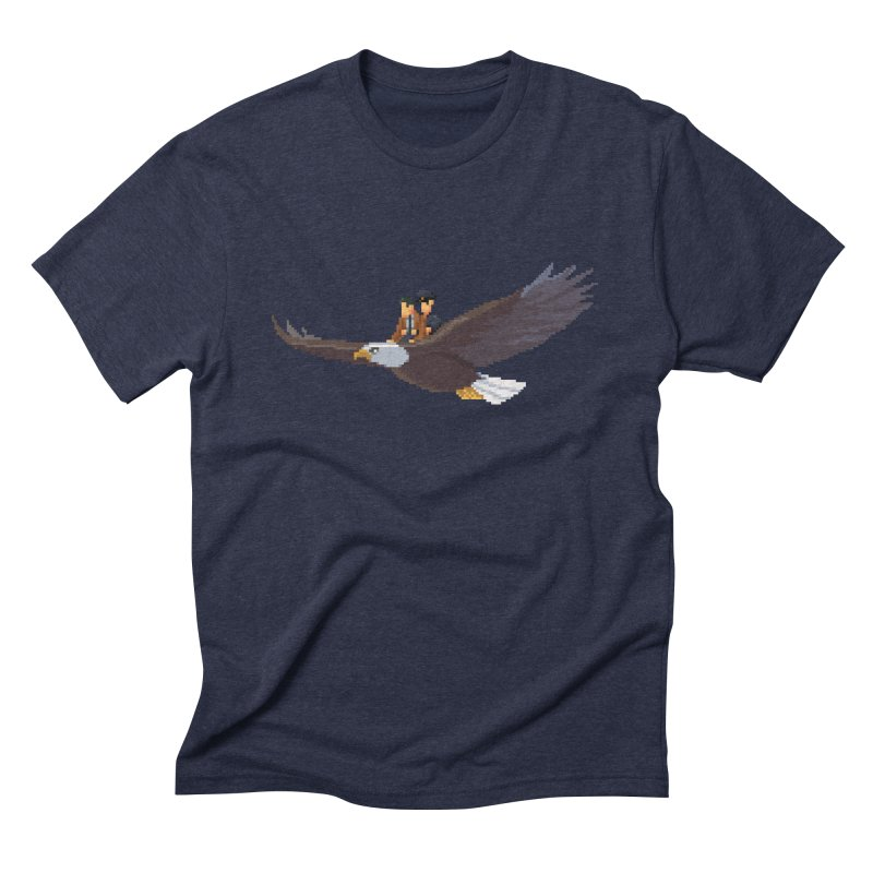 Detect From Above Men's Triblend T-Shirt by Spooky Doorway's Merch Shop