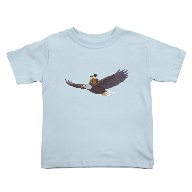 Detect From Above Kids Toddler T-Shirt by Spooky Doorway's Merch Shop