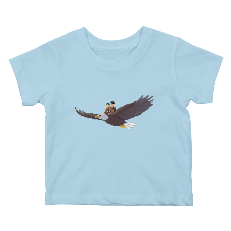 Detect From Above Kids Baby T-Shirt by Spooky Doorway's Merch Shop