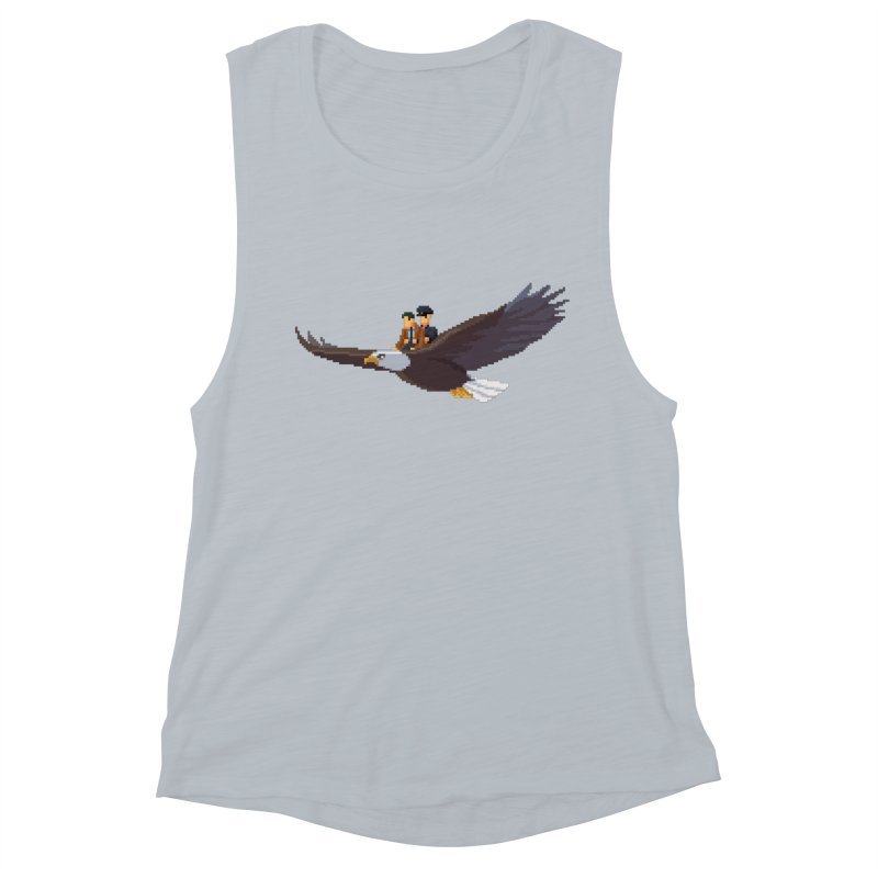 Detect From Above Women's Muscle Tank by Spooky Doorway's Merch Shop