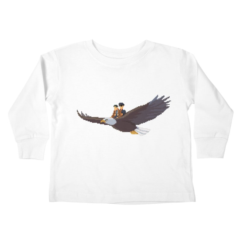 Detect From Above Kids Toddler Longsleeve T-Shirt by Spooky Doorway's Merch Shop