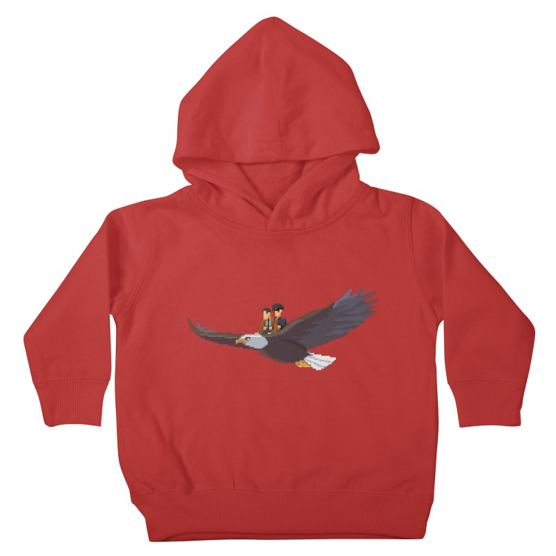 Detect From Above Kids Toddler Pullover Hoody by Spooky Doorway's Merch Shop
