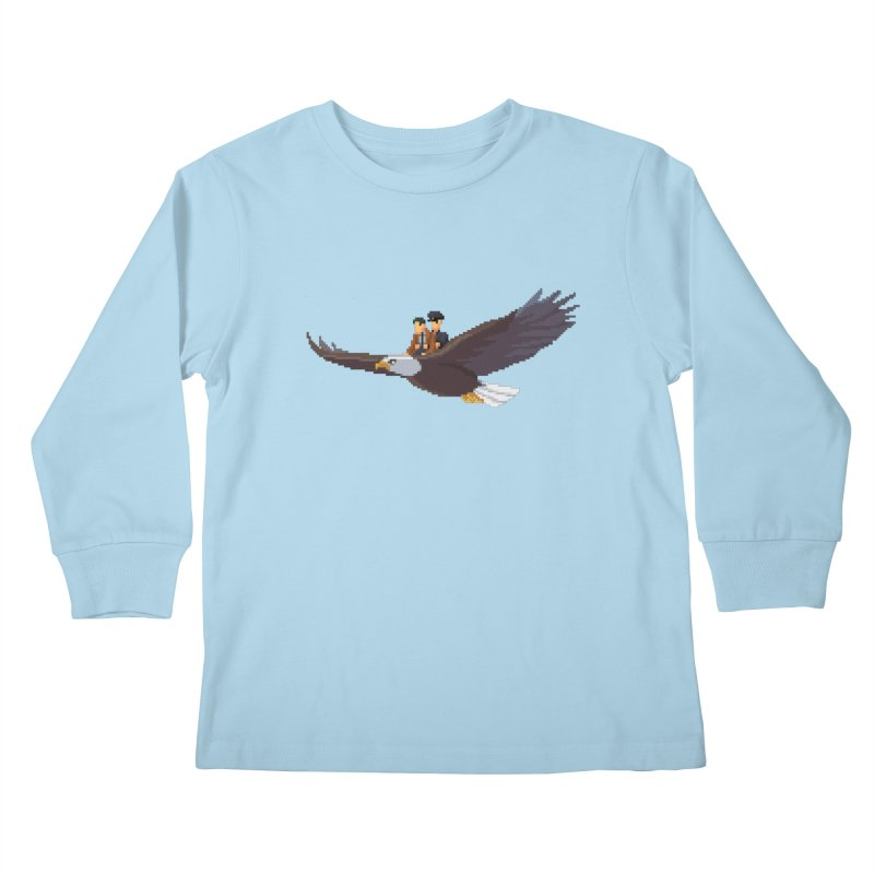 Detect From Above Kids Longsleeve T-Shirt by Spooky Doorway's Merch Shop