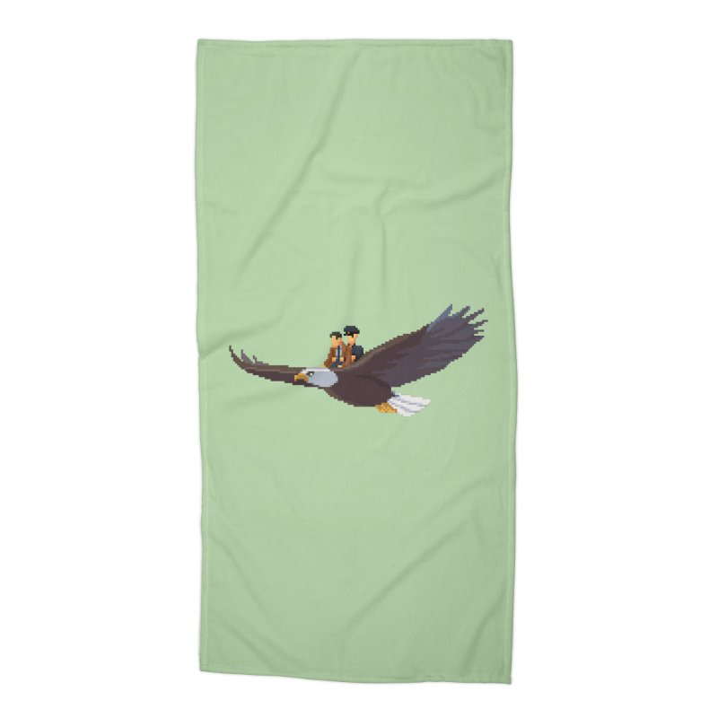 Detect From Above Accessories Beach Towel by Spooky Doorway's Merch Shop