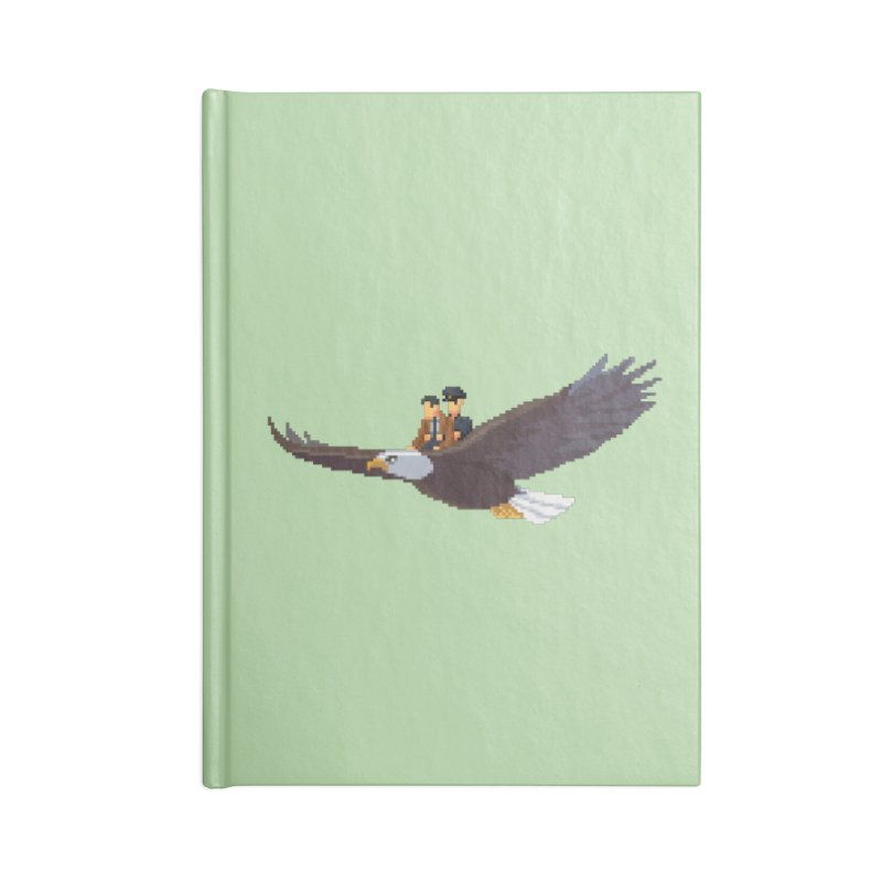 Detect From Above Accessories Blank Journal Notebook by Spooky Doorway's Merch Shop