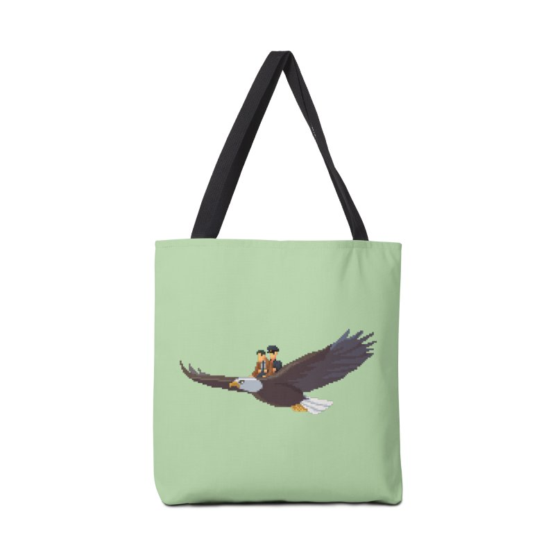 Detect From Above Accessories Tote Bag Bag by Spooky Doorway's Merch Shop